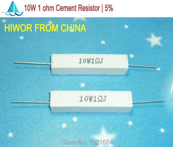 QTY 2-10 watt ceramic cement power resistor 25 ohm