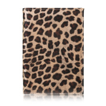 TRASSORY 2019 Leather Wild Leopard Style Passport Cover Case with Card and Cash Holder