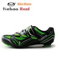 Tiebao サイクリングシューズロードバイク靴男性スニーカー zapatillas deportivas mujer アスレチック sapatilha ciclismo アウトドアシューズ