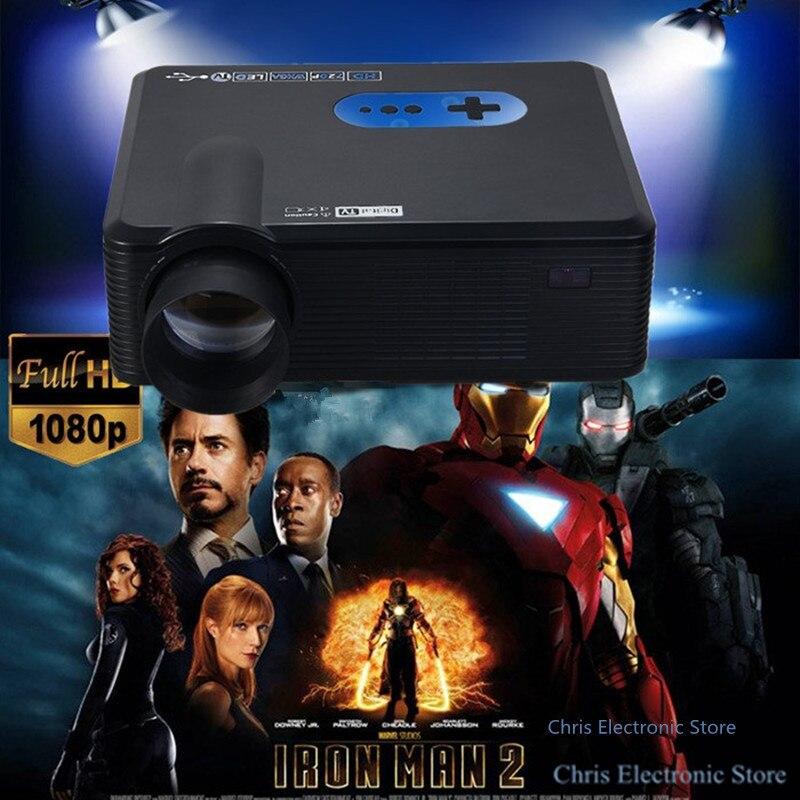Original Excelvan proyector CL720D Hd LED de Cine En Casa Proyector HDMI USB VGA