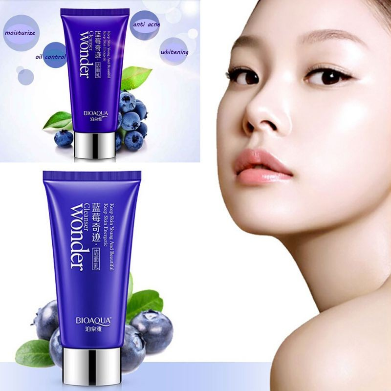 Face Mask Blueberry Miracle Deep font b Cleanser b font maquiagem Whitening Moisturizing Rehydrating Pores Beauty