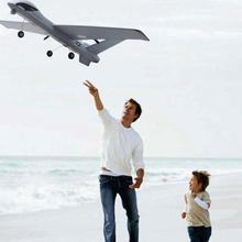 660 мм Самолет из пеноматериала EPP DIY RC самолет Z51 20 минут планеры 2,4 г Летающая модель с светодиодный хватать руками размах крыльев самолет из пеноматериала