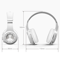 2019 Hot Bluedio Bluetooth 4.1 Wireless Headset Hurricane HT Stereo Headphone for Phones For DOY