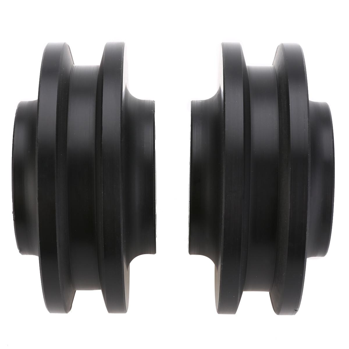 2pcs Sliding Barn Door Wheel Closet Cabinet Window Hardware Roller Pulley Accessory MAYITR все цены