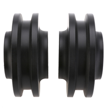 2pcs Sliding Barn Door Wheel Closet Cabinet Window Hardware Roller Pulley Accessory MAYITR free shipping furniture caster positioning pulley sheave nylon anti derailed pulley closet cabinet pulley sliding door wheel