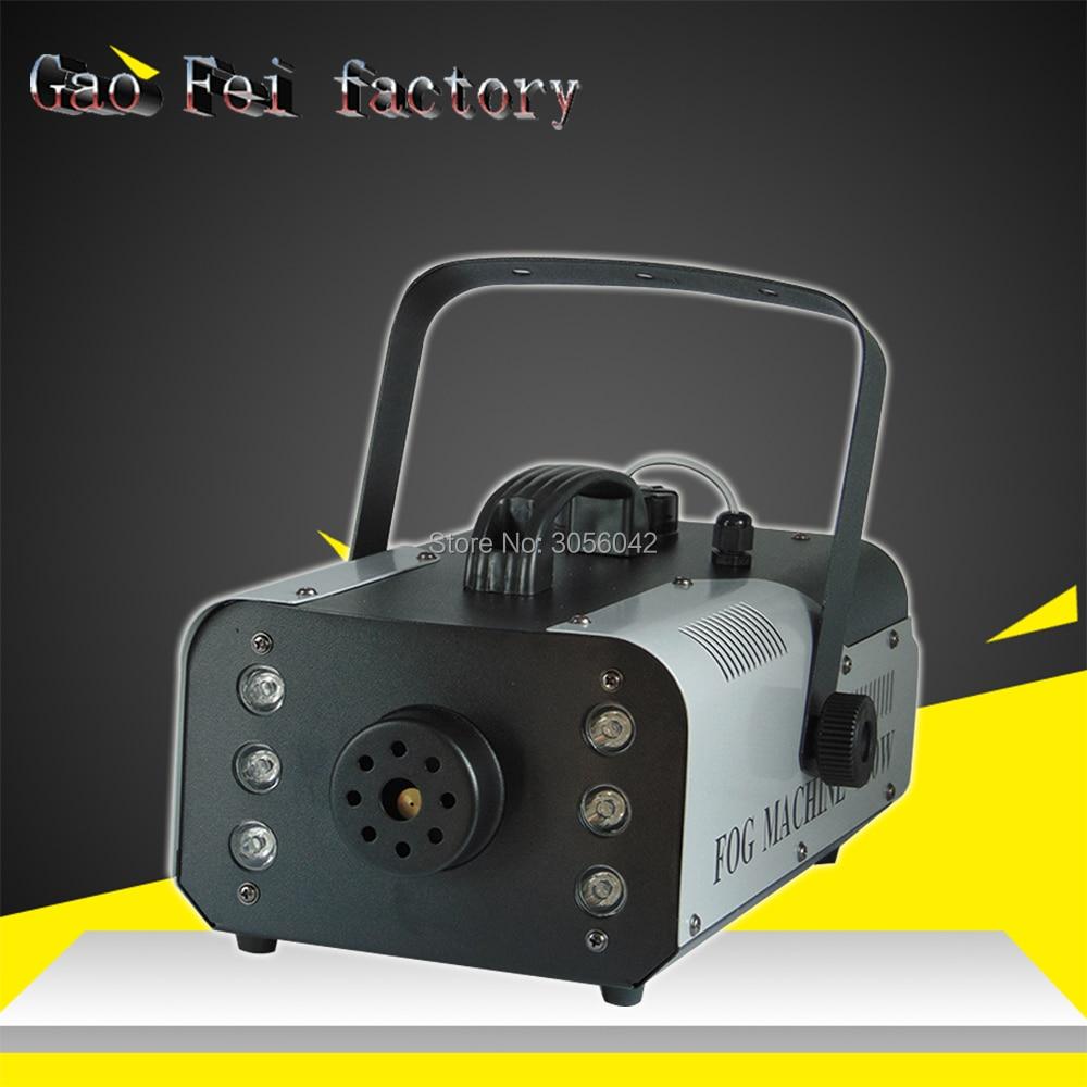 900W RGB 3IN1 Remote/Wire Control Smoke Machine pump DJ Disco Fog Machine Stage