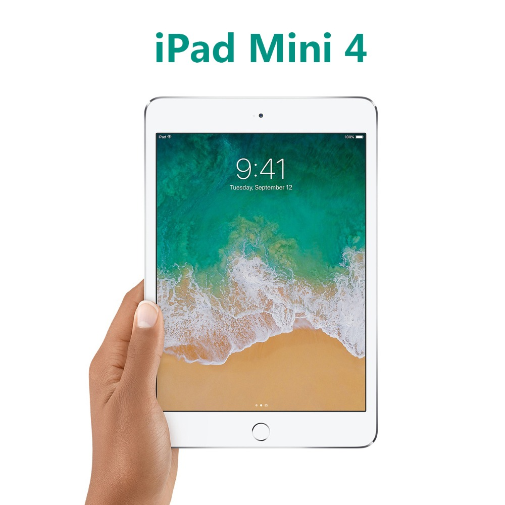 Apple iPad Mini 4 | Wifi Modèle Comprimés PC 6.1mm Ultra Mince 7.9 pouce 2 gb RAM D'origine Apple tablet PC Portable