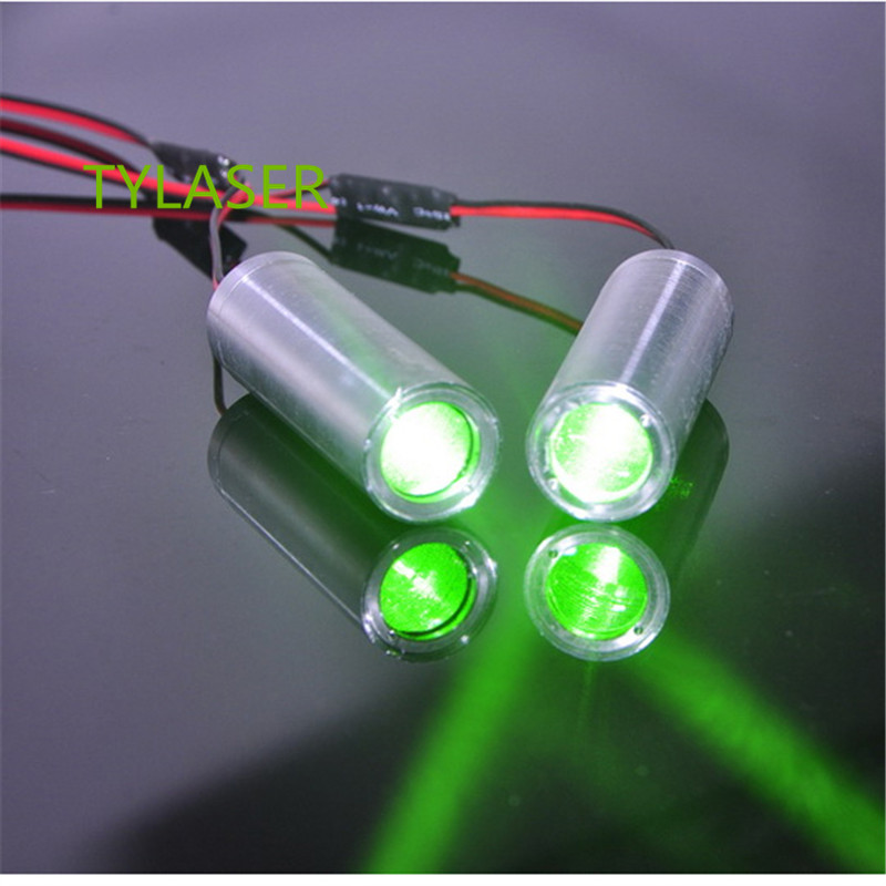 50mw 532nm Green Laser Module   3.6v-5v DC For Room Escape/ Maze Props/ Bar Dance Lamp