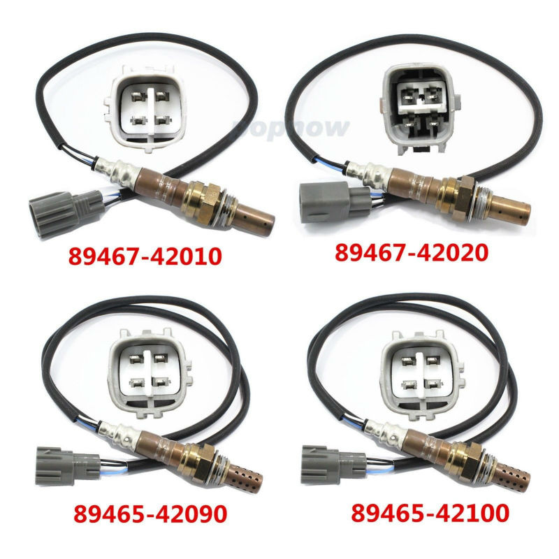 New 4 Set Ratio Oxygen Sensor O2 Sensor 89467-42010/89467-4202/89465-42090/89465-42100 For Toyota RAV4 2001-2003 #7342(CQ) цены