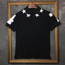 New novelty 2016 men punk high brand embroidery 7 4 print fashion polo shirts shirt hip.jpg 250x250