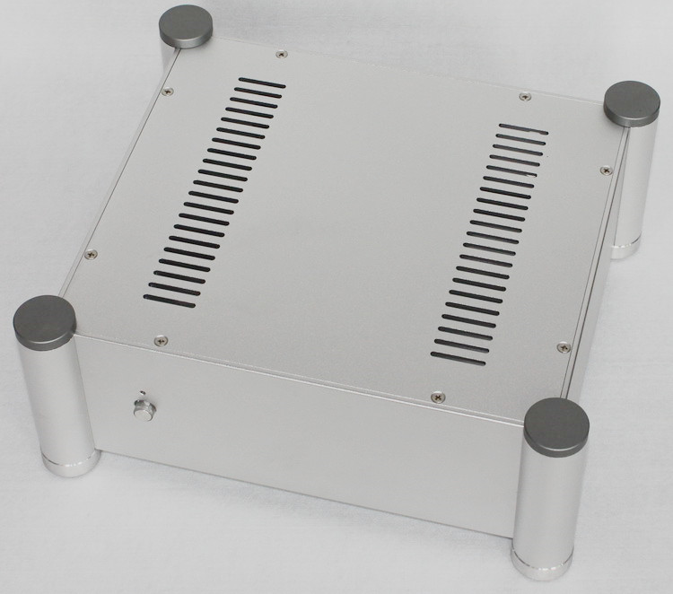 WA113 Aluminum enclosure Preamp chassis Power amplifier case/box size 280*320*120mm 2515 aluminum enclosure preamp chassis power amplifier case box size 311 253 150mm