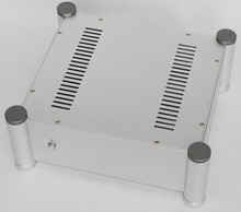 WA113 Aluminum enclosure Preamp chassis Power amplifier case/box size 280*320*120mm