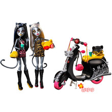 high school Locomotive double cat cat werecat sisters children toys gifts for girl no boxes
