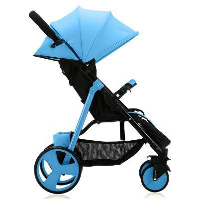 SLD cochecito de bebé diseño científico pliegues fácilmente y convenientemente 0-3 años, 7 kg capacidad de 25 kg marco de acero de ruedas de EVA - 4