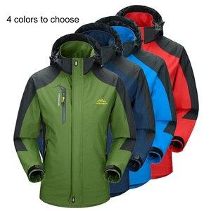 Image 2 - LoClimb Mens Spring/Autumn Outdoor/Hiking Jacket Men Mountain Trekking Windbreaker 5XL Fishing Coat Waterproof Jackets AM163