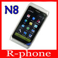 Refurbished Original Nokia N8 Mobile Phone WIFI GPS 12MP 3G GSM 16GB Storage N8 Mango Smartphone Unlocked
