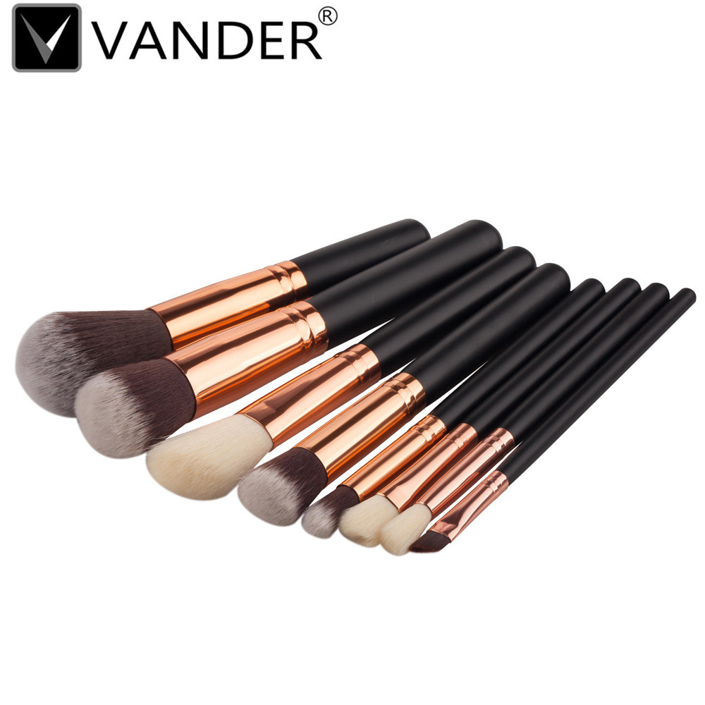 best deal hot dropshipping 12pcs cosmetic brush makeup brushes eyeshadow blush lip brushes sets kits tools for women beauty 8 Pcs Mini Soft Makeup Brushes Eyeshadow Powder Blush Fondation Brush Make Up Tools Cosmetic Kits Women Contour Brush Kwasten