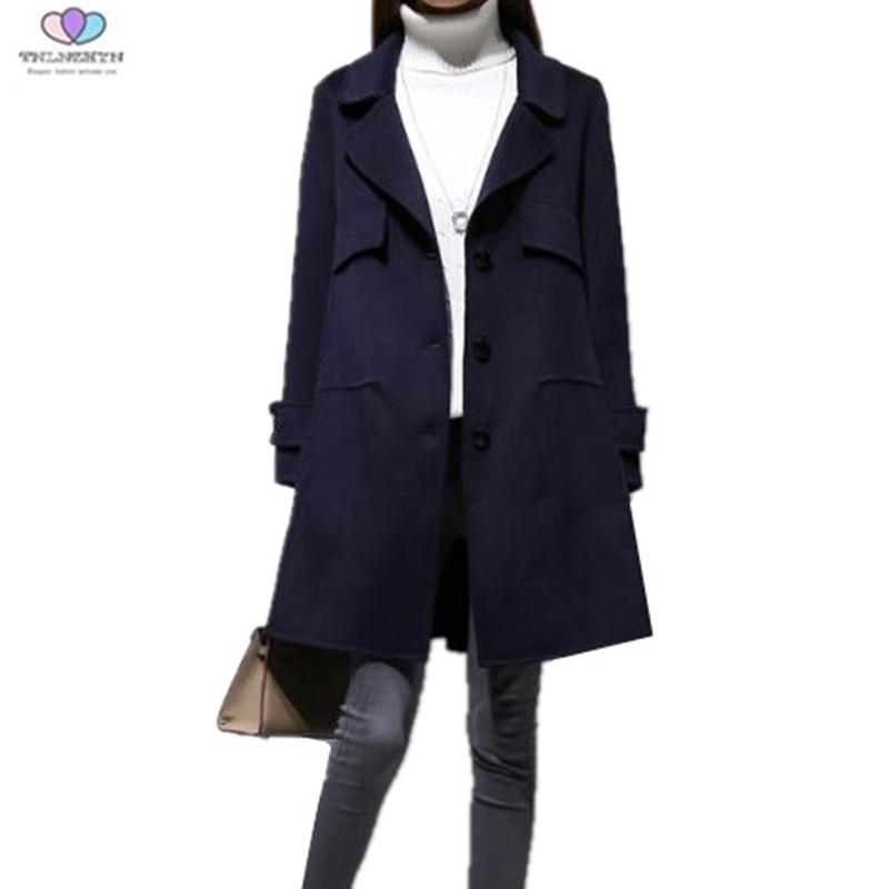 Medio Lungo E363 Color Lana Del Casual Nuovo Cappotti Allentato Monopetto  Eleganti Delle Tnlnzhyn Cappotto Autunno Photo Di Inverno 2019 Donne  xPTvHqHw 751d4b5cae3