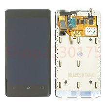 For Nokia Lumia 800 RM-801 LCD Display Touch Screen Digitizer Assembly Frame Replacement Parts(China)