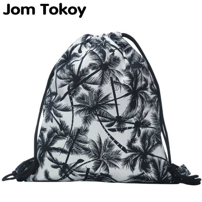 New Fashion Backpack 3D Printing Travel Softback Man Women Harajuku Drawstring Bag Mens Canvas Drawstring Backpacks