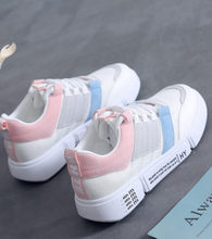 Fashion Lace Up Canvas Shoes womens Casual Shoes Adults Walking Shoes N1004(China)