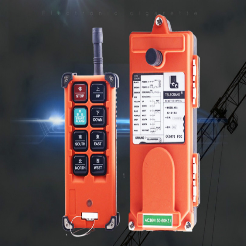 Remote Control Hoist Remote Crane Lifting Crane Accessories Takel Accessories Control Chain Hoist 36v-380v With English Button