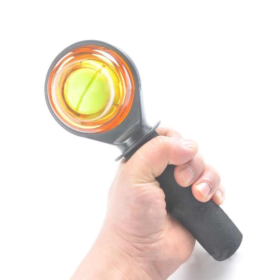 Мощность шар для разминки запястий новая защелка на запястье и гироскоп для тренировки запястья мяч гироскоп шарик усилителя укрепление запястья для шариков оборудование для тренажерного зала фитнеса
