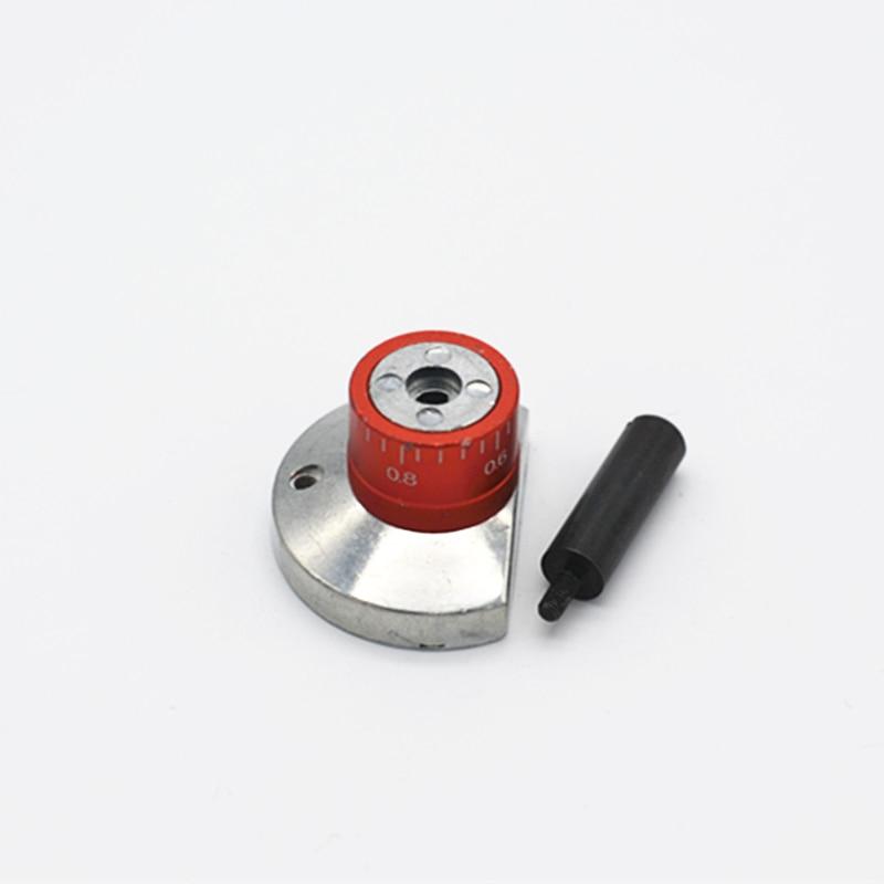 Металлические Ручки колеса и ручной набор с хвостовиком со шкалой Zhouyu первый инструмент металлический мини машина аксессуар