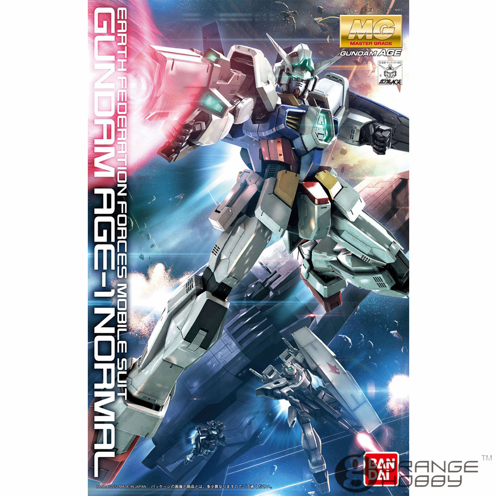 OHS Bandai MG 153 1/100 Gundam AGE-1 Normal Mobile Suit Assembly Model Kits ohs bandai mg 185 1 100 ppgn 001 gundam exia dark matter mobile suit assembly model kits