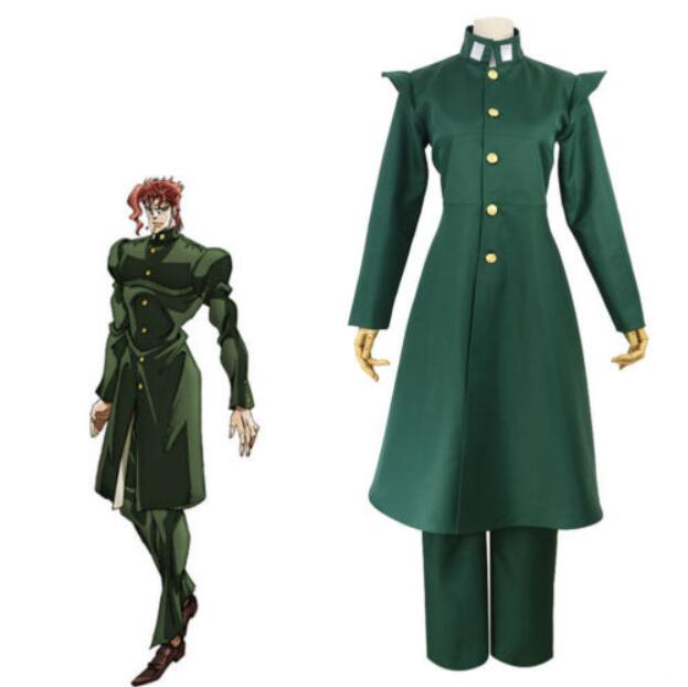 JoJo s Bizarre Adventure Noriaki Kakyoin Cosplay Costume Halloween Fashion Figure Fans Collection Costume Drop Ship