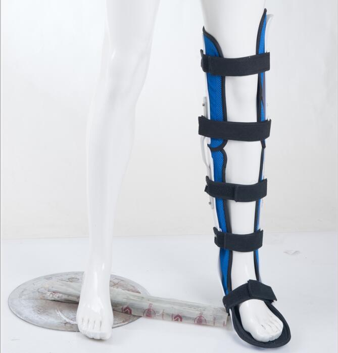 Безплатна доставка нерегулируеми коляното крака ортеза за патела на коляното лигамент травма позата коректор коляно фрактура подкрепа  t