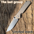 Land 812 Pocket Folding Blade Titanium Mes VG10 Blade Outdoor Camping Survival Jacht Tactische Tool EDC limited edition