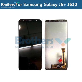 LCD Display For Samsung Galaxy J6 Plus J610 SM-J610F J610 LCD Screen Touch Screen Digitizer for Samsung J610 LCD Assembly Test фото