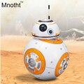 Star Wars Robot de Star Wars 2.4G Control Remoto RC BB-8 BB8 Robot Inteligente Bola Pequeña Figura de Acción Juguetes de Navidad regalo