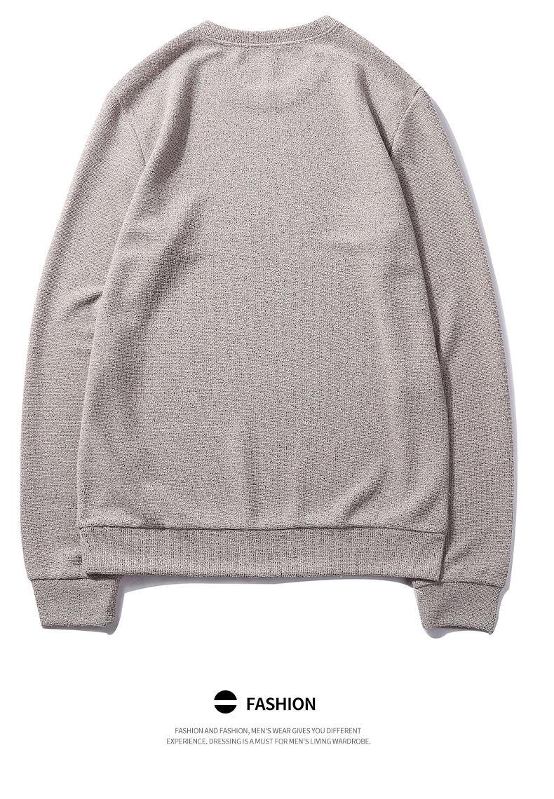 7Colors Autumn Casual Men Sweatshirts Solid Hoody Top Basic O Neck Sport Hoodies Male Spring Crewneck Streetwear Brand Clothing 11