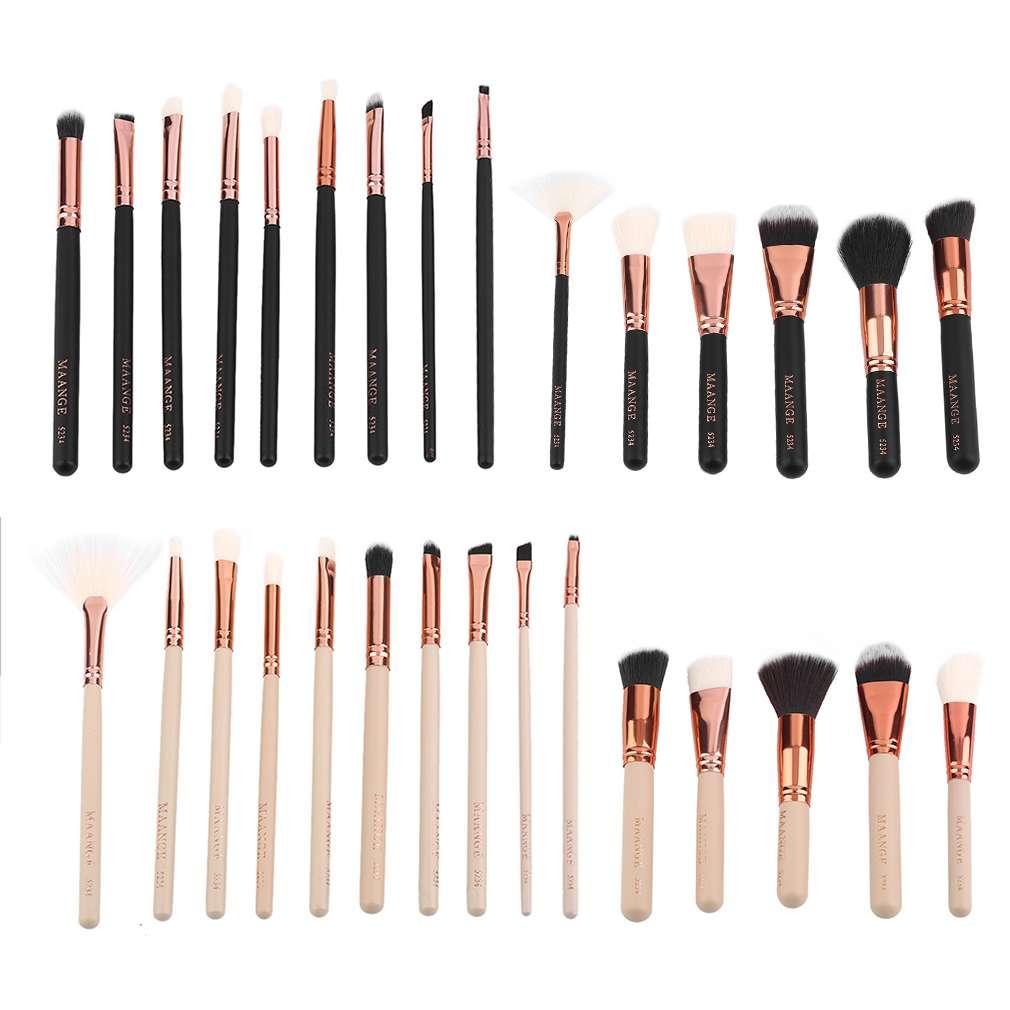 15pcs/set Personal Makeup Brushes Set Blush Foundation Eyeshadow Eyeliner Lip Brush Cosmetic Brush Kit New Make up 2017 Tool team up personal toolkit
