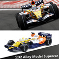 1:32 alloy F1 racing car models, metal casting, sound and light back to power, classic cars toy car, free shipping