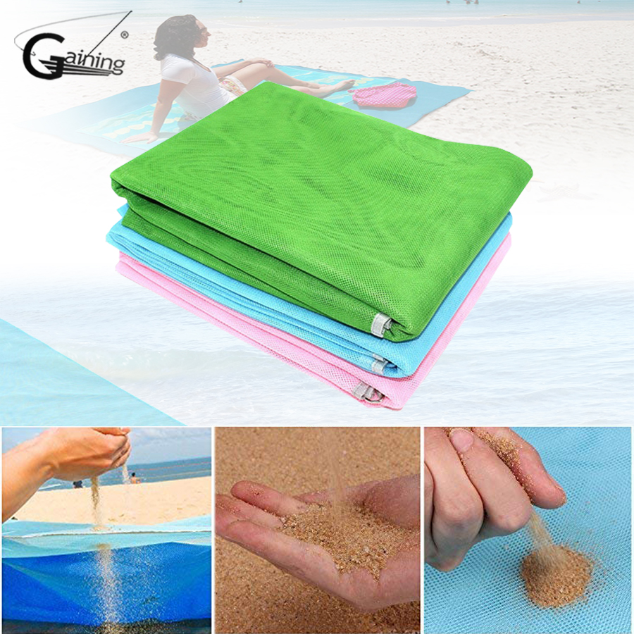 Sports & Entertainment Camping & Hiking 200 X 200cm Beach Mat Sand Free Magic Mat Beach Sandless Foldable Outdoor Waterproof Blanket Camping Picnic Folding Mat