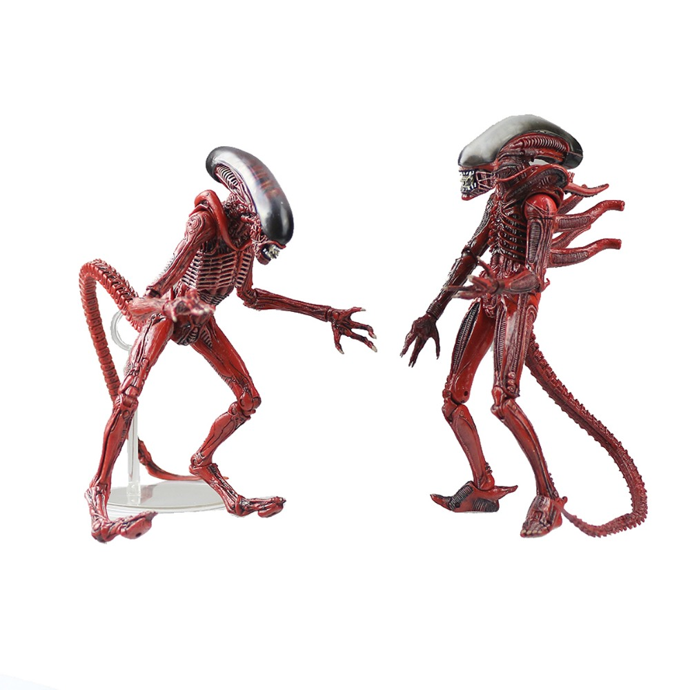 2in1 Neca Aliens Genocide Xenomorph Big Chap & Dog Alien Concept Action Figure Free Shipping the complete aliens omnibus volume two genocide alien harvest
