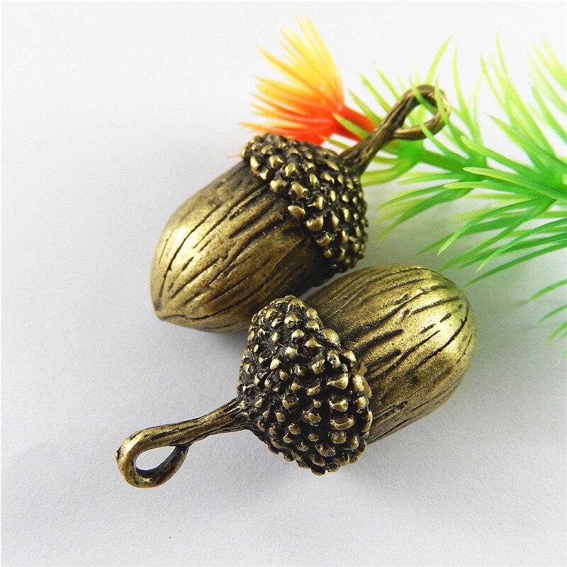 Graceangie 5 Stücke Antike Bronze Charms Simulierte Persönliche Obst Form Suspension Anhänger Schmuck Armband Zubehör