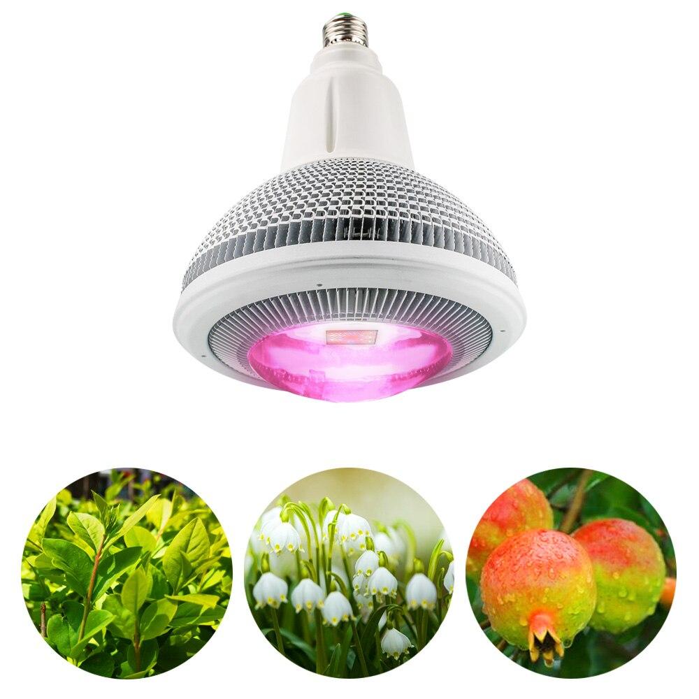 150W lampe en croissance COB puce LED Dissipation thermique rapide spectre complet E27 LED pousser la lumière pour les plantes d'intérieur à effet de serre hydroponique