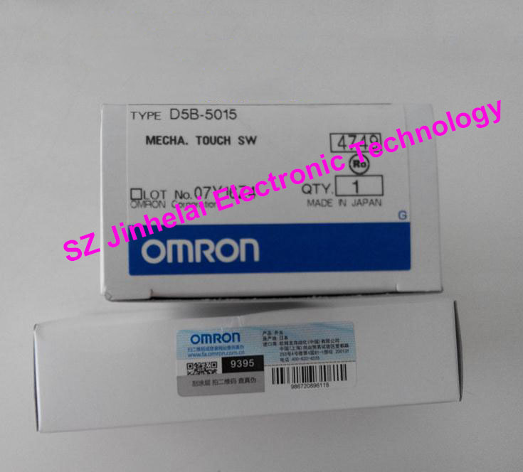 Authentic original OMRON MECHA.TOUCH SWITCH D5B-5015 authentic original omron limit switch ze q22 2