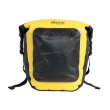 10L Bicycle Carrier Bag Rack Super Light Bike Luggage Back Seat Pannier Outdoor Cycling Storage Handbag Shoulder Strip