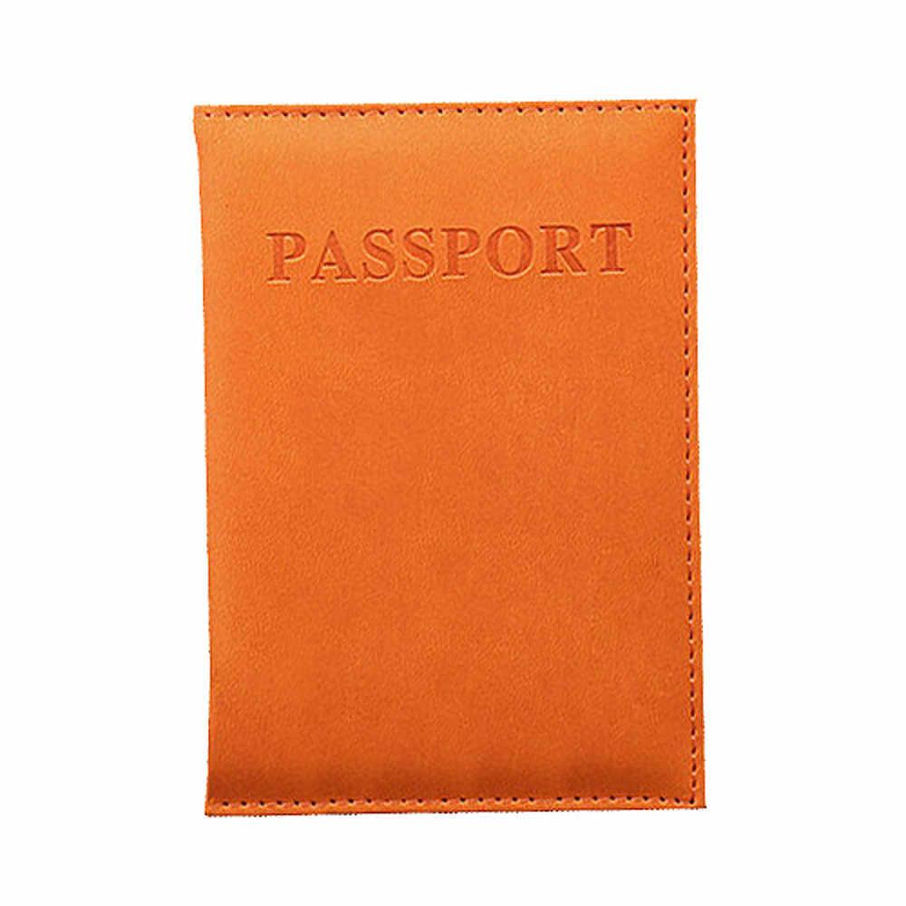 Fabriek Direct Geen Winst Man Vrouw Meisje Jongen Gewijd Mooie Reizen Paspoort Case ID Card Cover Bescherming Organizer