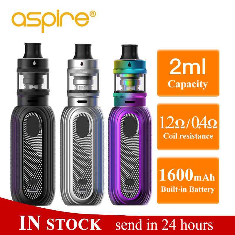 Aspire Reax mini Vape Kit 2ml Tigon Tank Atomizer Built in 1600mah battery MTL DTL 1