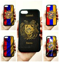 armenian flag ribbon soft silicone edge mobile phone cases for apple iPhone x 5s SE 6 6s plus 7 7plus 8 8plus XR XS MAX case цена и фото