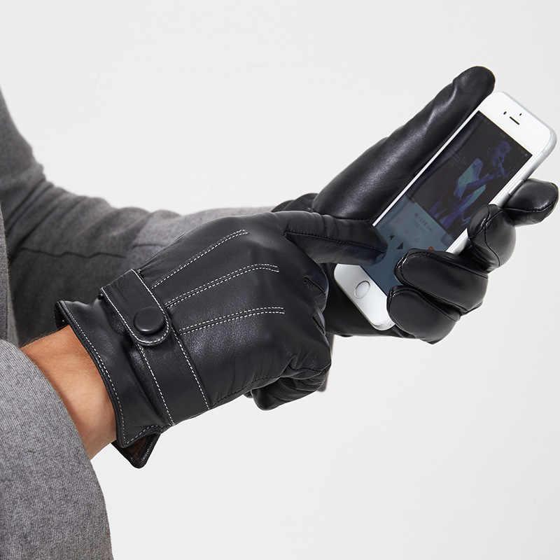 $125 Luvas De Lã Masculino ISOTONER Marrom Stretch tela sensível ao toque de condução de Inverno Tamanho Xl