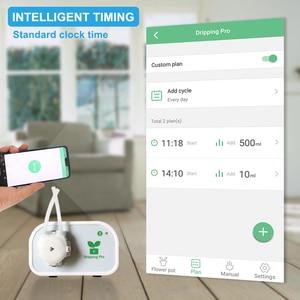 Image 3 - נייד טלפון בקרת אינטליגנטי גן השקיה אוטומטית מכשיר בשרניים צמח בטפטוף השקיה כלי מים משאבת טיימר מערכת