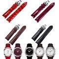 Cuero genuino correa de reloj correa de la banda para tissot t035 t035617 t035407/439 t035.210 venda de reloj 18/22/23/24mm couturier + herramienta