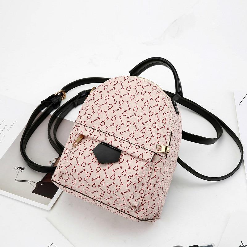 2018 New Fashion Womens Backpack Simple Bag for Girls Student Rucksack Shoulder Bag Travel